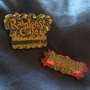 Jewelry - Rainforest Cafe Pins